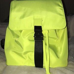 Green neon,backpack